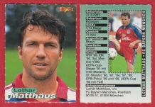 Bayern Munich Lothar Mathaus Germany 1